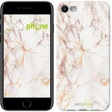 Чехол для iPhone 7 Белый мрамор 3847c-336