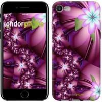 Чехол для iPhone 7 Цветочная мозаика 1961c-336