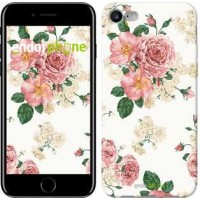 Чехол для iPhone 7 цветочные обои v1 2293c-336