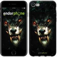 Чехол для iPhone 7 Дьявольский волк 833c-336