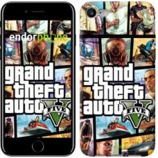 Чехол для iPhone 7 GTA 5. Collage 630c-336