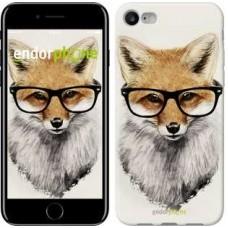 Чехол для iPhone 7 Лис в очках 2707c-336