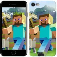 Чехол для iPhone 7 Minecraft 4 2944c-336