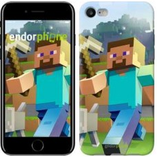 Чехол для iPhone 7 Minecraft 4 2944c-336