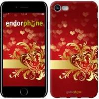 Чехол для iPhone 7 Ажурные сердца 734c-336
