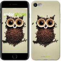 Чехол для iPhone 7 Сова из кофе 777c-336
