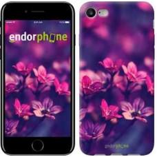Чехол для iPhone 7 Пурпурные цветы 2719c-336