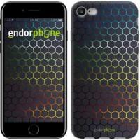 Чехол для iPhone 7 Переливающиеся соты 498c-336