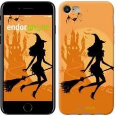 Чехол для iPhone 7 Ведьма на метле 1184c-336