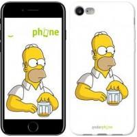 Чехол для iPhone 7 Задумчивый Гомер. Симпсоны 1234c-336