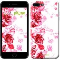 Чехол для iPhone 7 Plus Нарисованные розы 724c-337