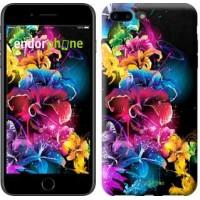 Чехол для iPhone 7 Plus Абстрактные цветы 511c-337