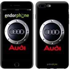 Чехол для iPhone 7 Plus Audi. Logo v2 3105c-337