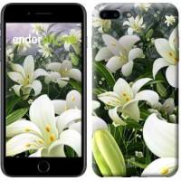 Чехол для iPhone 7 Plus Белые лилии 2686c-337