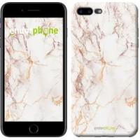 Чехол для iPhone 7 Plus Белый мрамор 3847c-337