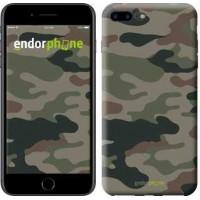 Чехол для iPhone 7 Plus Камуфляж v3 1097c-337