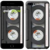 Чехол для iPhone 7 Plus Кассета 876c-337