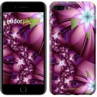 Чехол для iPhone 7 Plus Цветочная мозаика 1961c-337