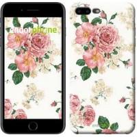 Чехол для iPhone 7 Plus цветочные обои v1 2293c-337