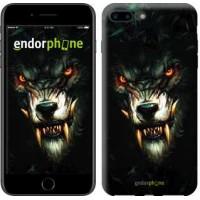 Чехол для iPhone 7 Plus Дьявольский волк 833c-337