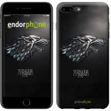 Чехол для iPhone 7 Plus Game of thrones. Stark House 1120c-337