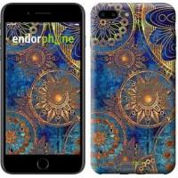 Чехол для iPhone 7 Plus Золотой узор 678c-337