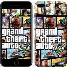 Чехол для iPhone 7 Plus GTA 5. Collage 630c-337