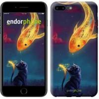 Чехол для iPhone 7 Plus Кошкин сон 3017c-337