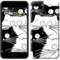 Чехол для iPhone 7 Plus Коты v2 3565c-337