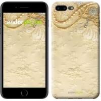 Чехол для iPhone 7 Plus Кружевной орнамент 2160c-337