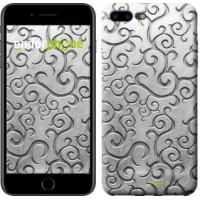 Чехол для iPhone 7 Plus Металлический узор 1015c-337