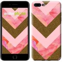Чехол для iPhone 7 Plus Нежный шефрон 3538c-337