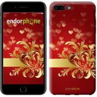 Чехол для iPhone 7 Plus Ажурные сердца 734c-337