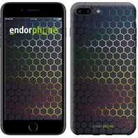 Чехол для iPhone 7 Plus Переливающиеся соты 498c-337