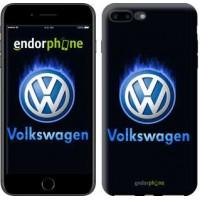Чехол для iPhone 7 Plus Volkswagen. Fire logo 3141c-337
