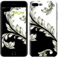 Чехол для iPhone 7 Plus White and black 1 2805c-337