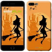Чехол для iPhone 7 Plus Ведьма на метле 1184c-337