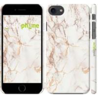 Чехол для iPhone 8 Белый мрамор 3847m-1031