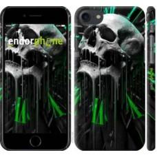 Чехол для iPhone 8 Череп-часы 4100m-1031