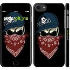 Чехол для iPhone 8 Череп в кепке 4127m-1031