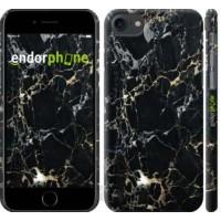 Чехол для iPhone 8 Черный мрамор 3846m-1031