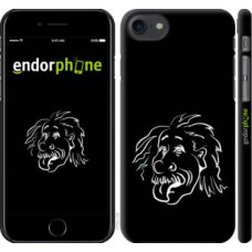 Чехол для iPhone 8 Эйнштейн 4759m-1031