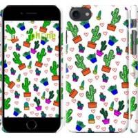 Чехол для iPhone 8 Кактусы 4 4856m-1031