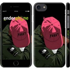 Чехол для iPhone 8 logo de yeezy 3995m-1031