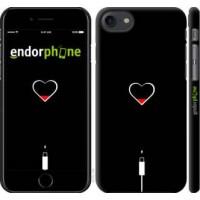 Чехол для iPhone 8 Подзарядка сердца 4274m-1031