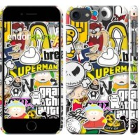 Чехол для iPhone 8 Popular logos 4023m-1031