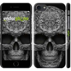 Чехол для iPhone 8 skull-ornament 4101m-1031