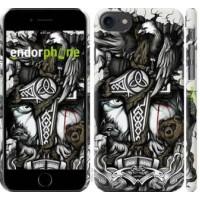 Чехол для iPhone 8 Тату Викинг 4098m-1031