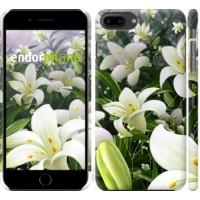 Чехол для iPhone 8 Plus Белые лилии 2686m-1032