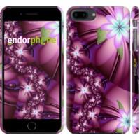 Чехол для iPhone 8 Plus Цветочная мозаика 1961m-1032